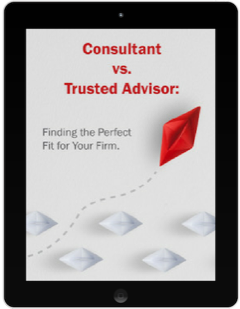 Consultant vs Trusted Advisor Cover Art