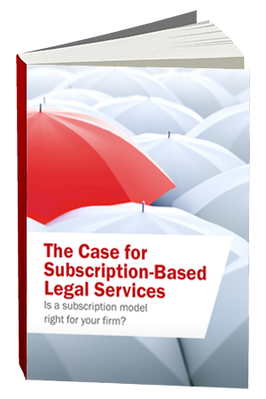 Subscription Based Legal Services eBook